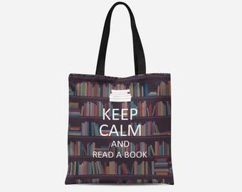 Book Tote | Book Tote Bag | Book Canvas Bag | Book Canvas Tote | Book Canvas Tote Bag | Book Gift | Book Bag