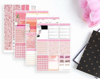 Glam Gal Project Planning With Intent Sticker Kit   56 Stickers
