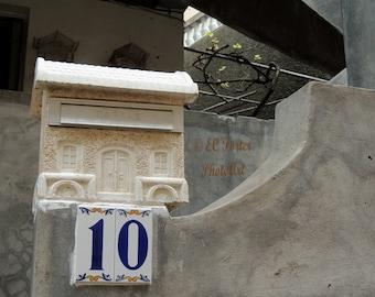 Mailbox on west coast of Madeira