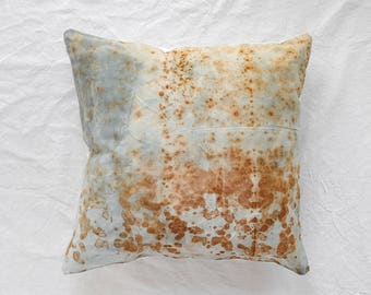 26X26 Rusted Canvas Pillow