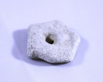 Tumbled Stone, Hagstone, Fairy Stone, Odin Stone, Holey Stone, Naturally Tumbled Hagstone Witchstone Fairystone Odinstone Holeystone