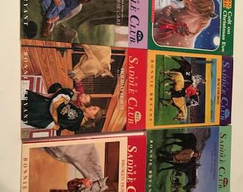 34 saddle club paperback books 1990s