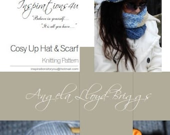 Cozy Up Hat and Scarf, knitting patterns, hats, scarves, knitting patterns, crochet patterns, knitting, sweaters,hat knitting patterns