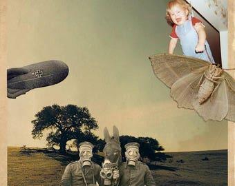 Yesteryear photomontage