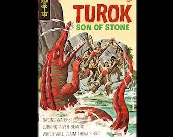 Turok Son of Stone No. 70 - Gold Key Comic Book c. July 1970