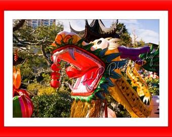 DRAGON, digital download photography, CHINESE DRAGON, lucky dragons, lantern festival, China photo, wall art photograph, dragon parade photo