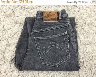 Vintage Kenzo Jeans Womens High Waisted Tappered Leg Denim Pants - Kenzo Jeans - Size 24