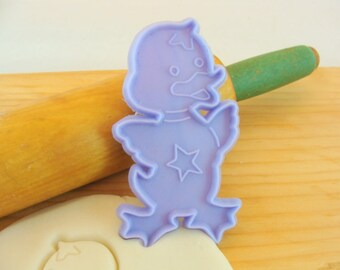 Lavender Easter Chick Bird Imprint Cookie Cutter