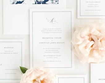 Mackenzie Wedding Invitations - Sample