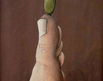 Spanish Olive Giclee Print by Tim Campbell