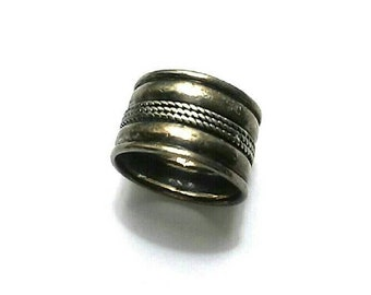 Vintage Sterling (925) Silver Band Ring 60s 70s 80s 90s Best Selling Jewelry Items
