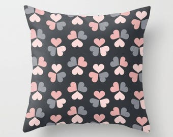 Love on Wheels Throw Pillow