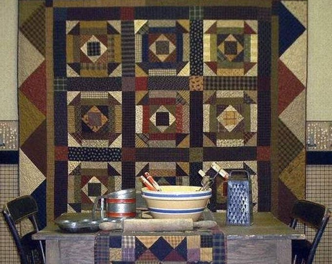 Pattern: Baking Day Quilt Pattern by Primitive Pieces by Lynda