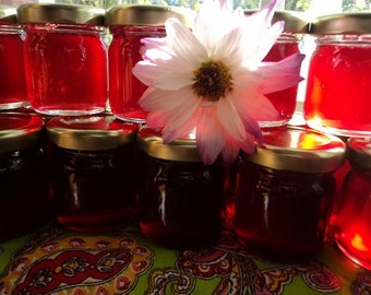 Mini Mason jars Jam and Jelly wedding Favors Shower, Hostess gifts Custom Love!