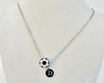 Soccer Necklace, Teen Girl Gift, Personalized Soccer Jewelry, Soccer Mom, Soccer Team Jewelry, Girls Jewelry, Soccer Gift, Soccer Coach Gift