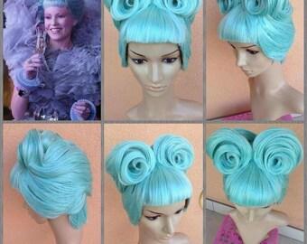 Effie Trinket cosplay wig preorder hunger games movie