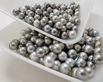 8-10mm Light Near-Round/Ovals Loose Tahitian Pearls