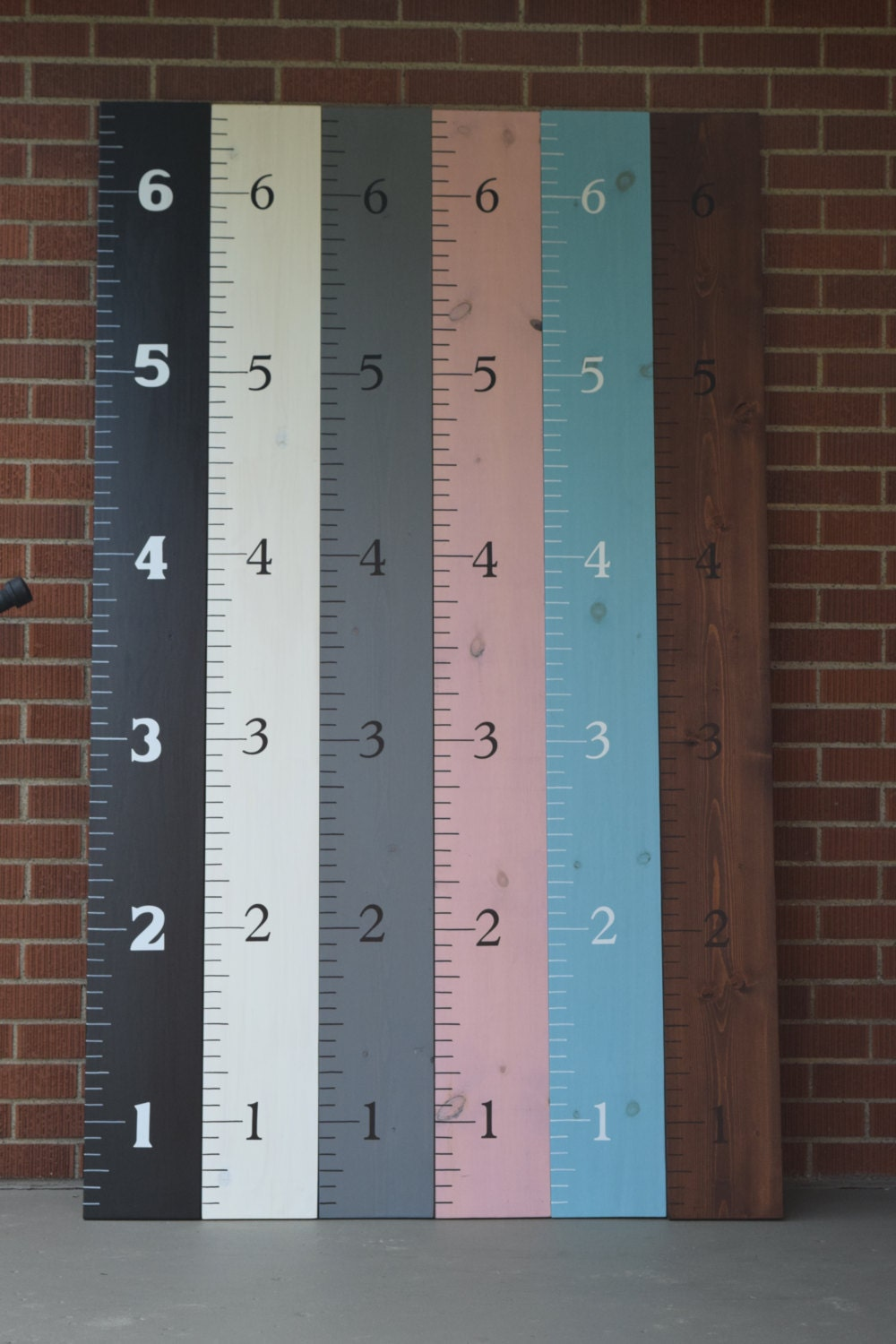Wooden growth chart ruler 8 wide wood growth chart zoom nvjuhfo Images