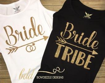 Bridal Party, Bride Tribe Tanks/Tees