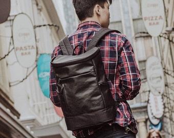 Waxed Canvas backpack Black Waxed Canvas backpack Black Waxed Canvas backpack Black Waxed Canvas backpack Black Waxed Canvas backpack Black