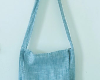 Dusty Blue Tote Bag