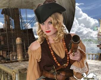 Sassy Jackie Pirate Hat