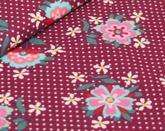 Liz Scott Fabric, Domestic Bliss by Liz Scott for Moda Fabrics, 18070-11 Eggplant