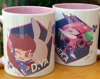 Overwatch: D.VA Mug