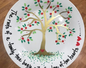 Family Roots Plate