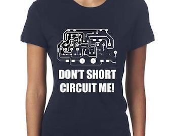 Computer Shirt - Circuit Board Shirt - Computer Geek Gift - ladies  Gift - Geek Tshirt - Circuit Board Art