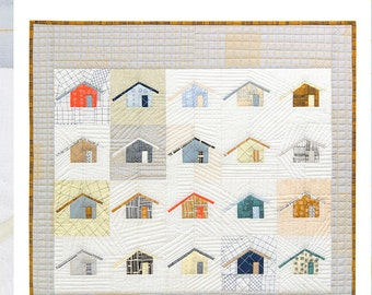 Outhouse Quilt Pattern by Carolyn Friedlander
