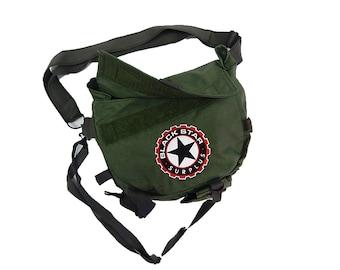 Military Surplus Messenger Bag