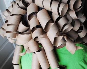 Toilet Paper Tube Wig