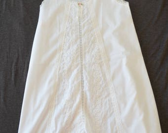 Vintage HER MAJESTY christening gown communion dress size 8 girls USA made