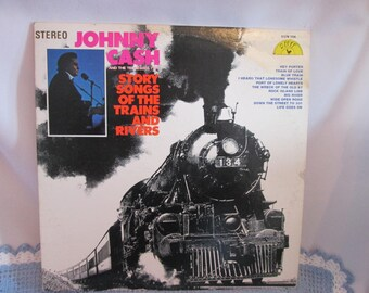 Vintage Vinyle Johnny Cash and the Tennesse