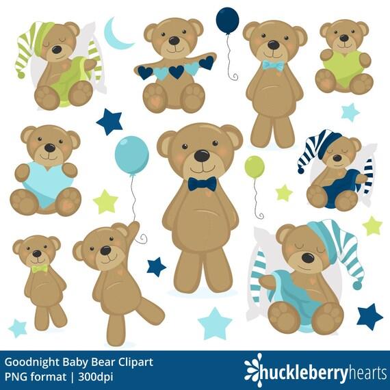 teddy bear clipart bear clip art baby boy blue printable rh etsy com baby bear clipart images baby polar bear clipart
