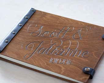 Wedding Guest Book, Guest Book, Wedding Album, Rustic Guest Book, Wedding, Wood Guest Book, Wedding Guestbook, Guestbook, Photo Album