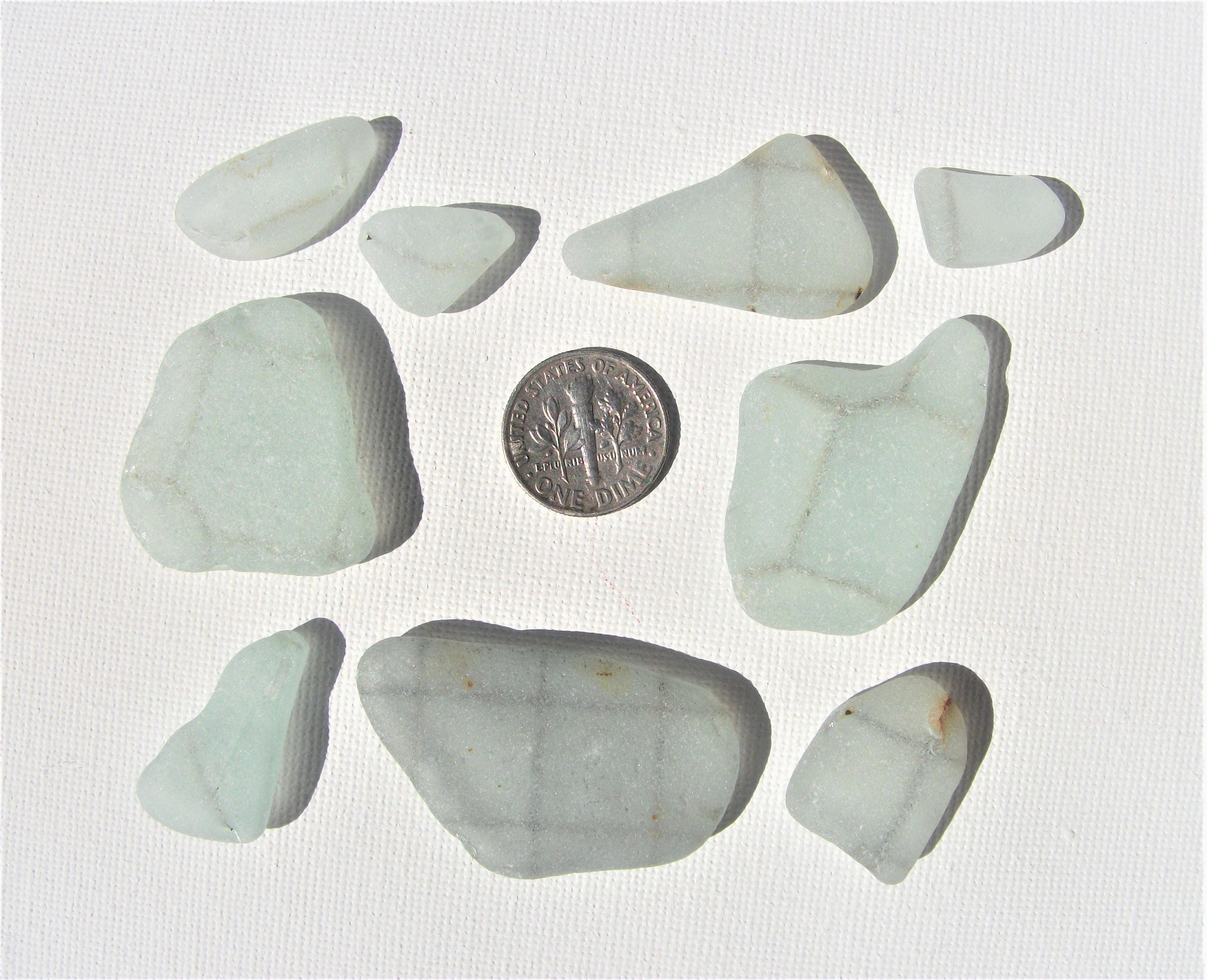 Aqua Safety Sea Glass. Safety Glass seaglass! Barbed wire sea glass ...