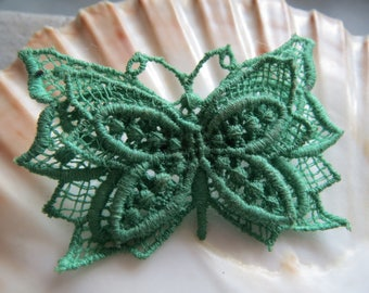 Butterfly Lace Lace-vintage handmade, brooch butterfly, lace butterfly, butterfly, vintage butterfly,