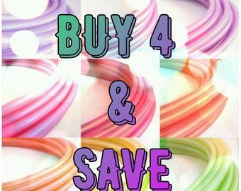 Polypro Hula Hoops, Buy 4 and Save
