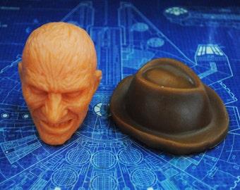 Handmade Large 3D Freddy Krueger Soap & Hat Soap – Zombie, Christmas gift, stocking gift, Novelty