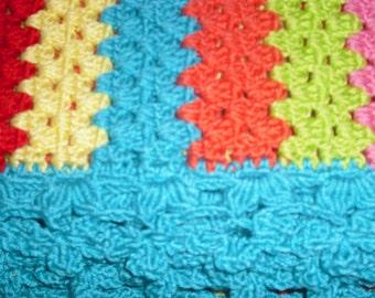 King size  Crochet Blanket