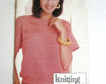 Knitting & Crochet with Style from Simplicity - Booklet No. 0477 - Crochet Fashions - 1988