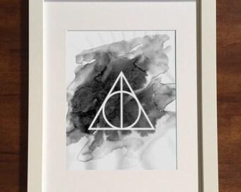 Harry Potter • Harry muerte impresión Digital