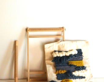 KIT métier à tisser et TOTE BAG / Réaliser avec ce kit votre Tote Bag tissage