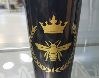 Queen Bee Vinyl Decal Sticker! For Tumbler, Stainless Steel, Yeti Cup Decal