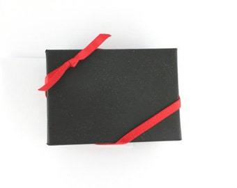 Men's Black Gift Box - Men's Gift Wrap