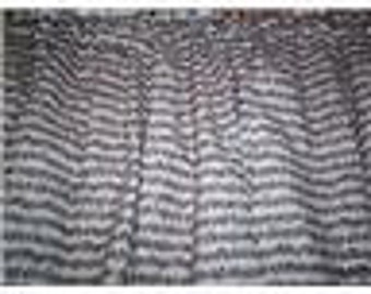 New Sheet Music Notes  Window Curtain Valance Limited supply