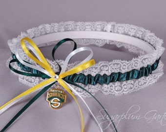 Seattle SuperSonics Lace Wedding Garter