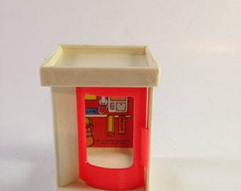 vintage fisher price little people phone booth 1973 #997